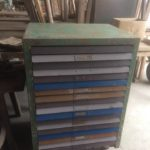loft iron chest of drawers