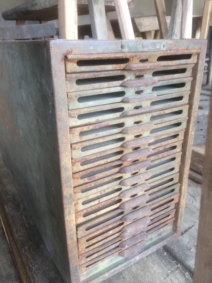iron loft design small cabinet