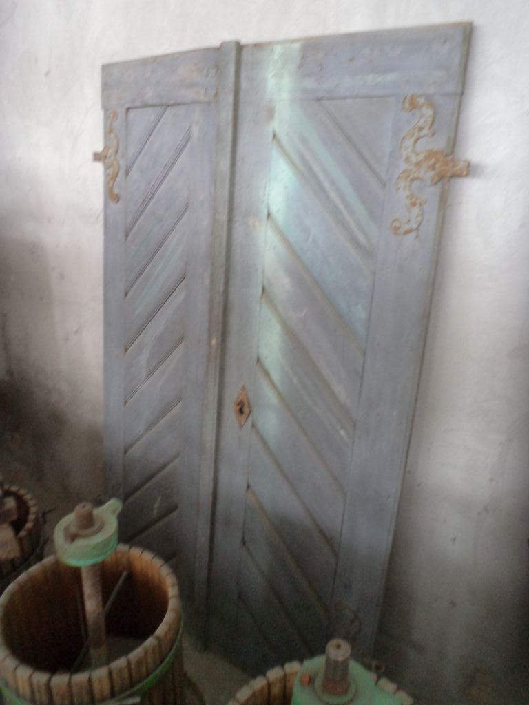 Vintage doors old cellar door