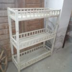 Old white vintage furniture