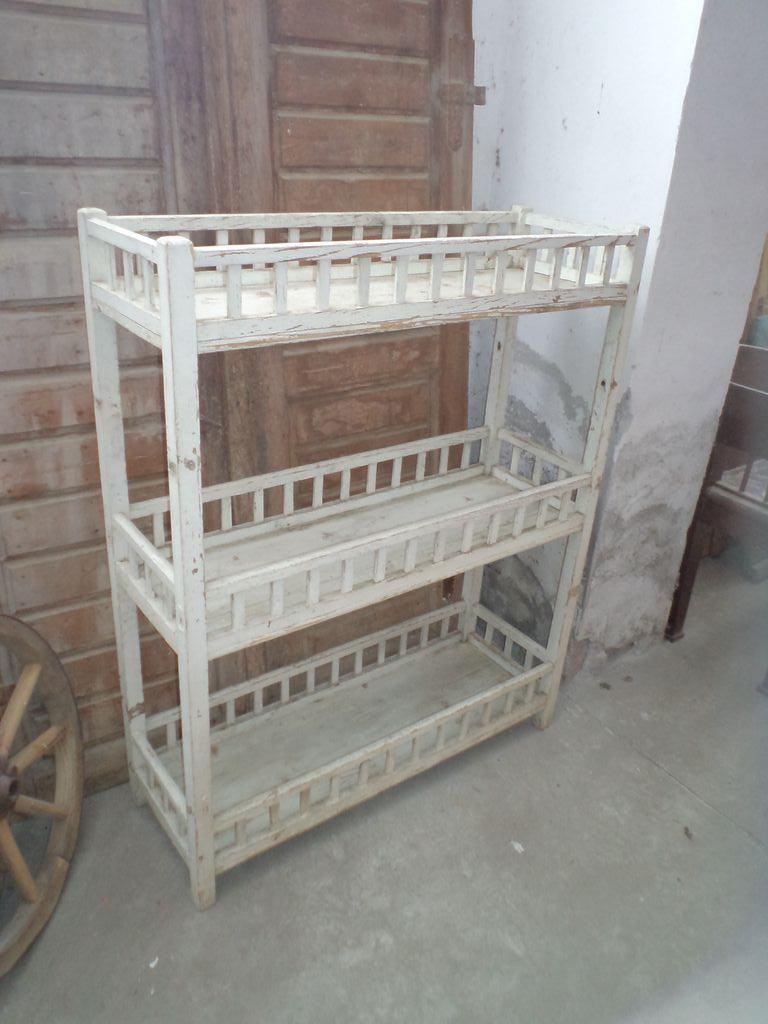 Old white vintage furniture
