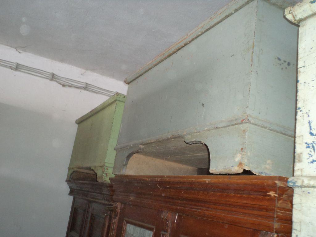 Grey case antique box in original colour