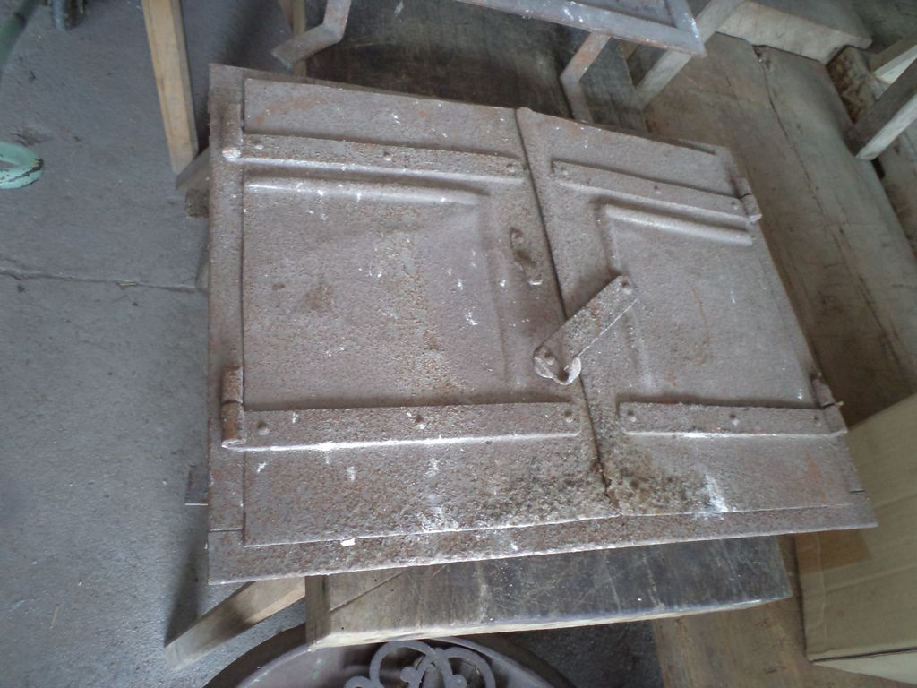 Old oven doors with frame
