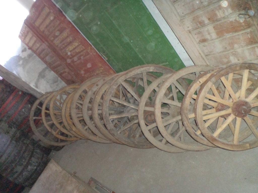 antique wheels