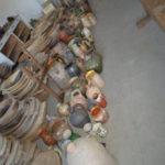 old ceramics pots