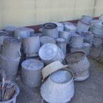zinc pots